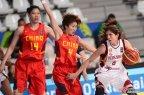 [高清组图]女篮落选赛 中国77-59大胜委内瑞拉