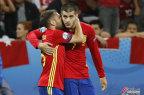 [高清组图]欧洲杯-西班牙3-0土耳其晋级16强