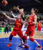 [高清组图]中国女篮大胜白俄罗斯晋级奥运正赛