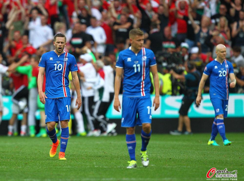 [高清组图]欧洲杯-乌龙+争议点球 冰岛1-1匈牙利