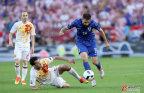 [高清组图]欧洲杯-克罗地亚2-1绝杀西班牙