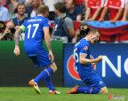 [高清组图]欧洲杯-冰岛94分钟绝杀 小组第2出线