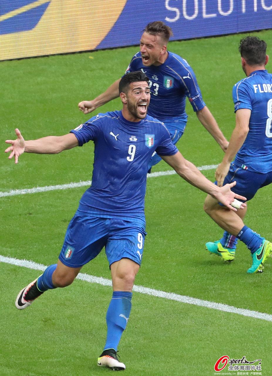 欧洲杯-意大利2-0西班牙复仇 8强战对决德国