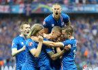 [高清组图]欧洲杯-冰岛爆冷2-1逆转英格兰