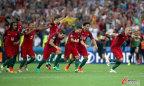 [高清组图]欧洲杯-妖星救主 葡萄牙点球淘汰波兰