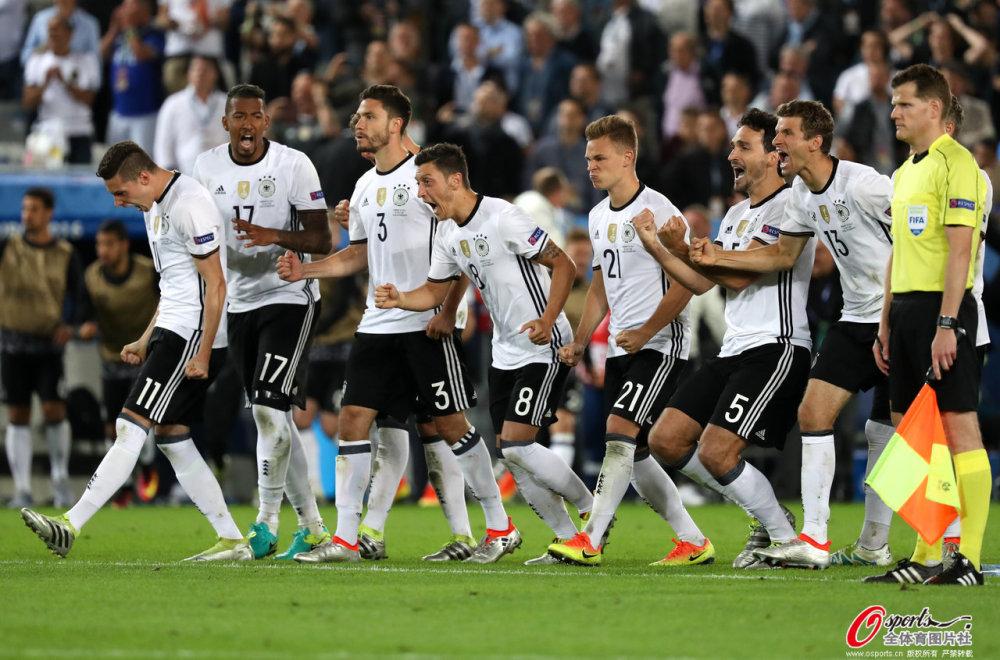 [高清组图]欧洲杯-跌宕起伏 德国点球6-5意大利