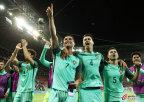 [高清组图]欧洲杯-C罗纳尼破门 葡萄牙2-0进决赛