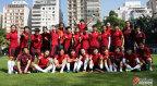 [高清组图]中国女足抵达圣保罗 潜心备战奥运会