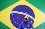 [高清组图]巴西国奥队新闻发布会 维弗顿将出战