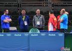 [高清组图]中国乒乓球队进行适应场地训练