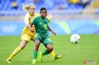 [高清组图]南非门将黄油手送礼 瑞典1-0开门红