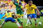[高清组图]男足小组赛:巴西队0-0战平南非队