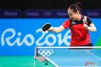 [高清组图]福原爱领衔日本乒乓球队训练备战