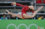 [高清组图]美国体操队训练备战迎接奥运会