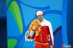 [高清组图]男子400米混合泳决赛 孙杨夺银牌