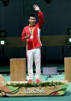 [高清组图]10米气手枪庞伟夺铜牌 越南选手摘金