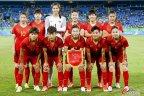 [高清组图]奥运女足预赛 中国2-0胜南非