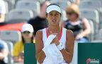 [高清组图]网球女单首轮 伊万诺维奇负纳瓦罗