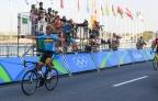 [高清组图]公路自行车:比利时名将惊险夺金