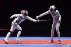 [高清组图]女子重剑个人决赛:匈牙利老将夺金