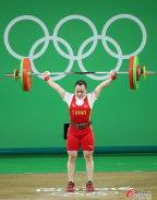 [高清组图]举重女子53公斤级决赛:黎雅君失金