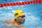 [高清组图]男子100米仰泳半决赛 徐嘉余晋级决赛