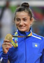 [高清组图]女子柔道52公斤级:科索沃选手夺冠