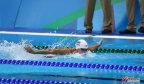 [高清组图]女子100米蝶泳 中国队与奖牌失之交臂