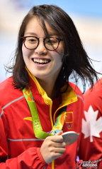 [高清组图]女子100仰泳 中国选手傅园慧摘铜