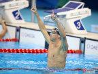 [高清组图]男子200米蝶泳 菲尔普斯夺冠