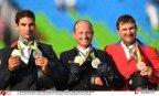 [高清组图]里约奥运会马术三项赛德国名将摘金