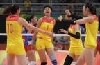 [高清组图]中国女排3-0完胜波多黎各赢得两连胜
