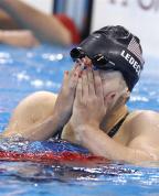 [高清组图]女子200米自由泳 莱德茨基夺冠