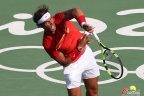 [高清组图]网球男单纳达尔2-0完胜塞皮晋级16强