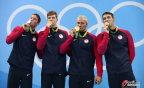 [高清组图]男子4x200米自由泳接力赛 美国夺冠