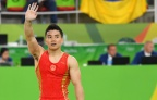 [高清组图]体操个人全能中国无缘奖牌 日本冠军