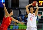 [高清组图]奥运-中国女篮以68-89不敌西班牙女篮