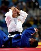 [高清组图]田知本遥夺女子柔道70公斤级金牌