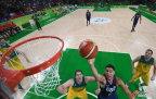 [高清组图]奥运男篮-美国艰难击败澳大利亚