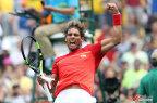 [高清组图]网球男单第3轮纳达尔2:0力克西蒙