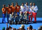 [高清组图]女子四人双桨德国队夺冠 荷兰队第二
