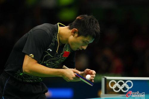 [高清优游品牌国际图]乒乓球男人单打 马龙4比0胜张继优游品牌国际