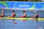 [高清组图]男子赛艇四人单桨决赛瑞士组合夺魁