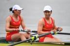 [高清组图]女子双人单桨 中国排名第七英国摘金