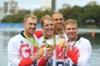 [高清组图]男子四人单桨决赛 英国组合夺得金牌