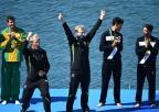 [高清组图]新西兰选手夺得男子双人单桨冠军
