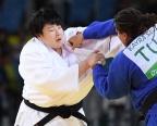 [高清组图]柔道女子78公斤级于颂摘铜 法国夺冠