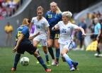 [高清组图]瑞典点球大战5-4淘汰美国 爆冷进四强
