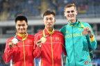 [高清组图]男子20公里竞走 中国队包揽金银牌