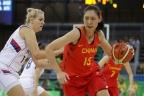 [高清组图]女篮小组赛中国72-80不敌塞尔维亚队